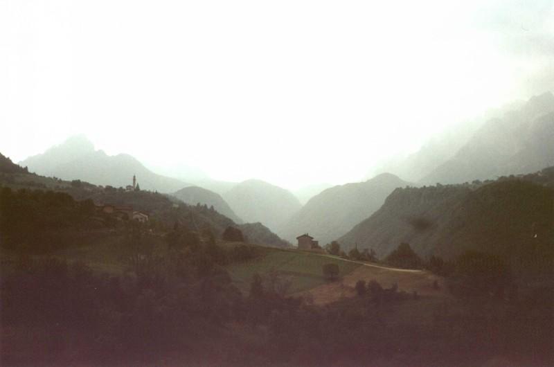 foschia in Vallarsa